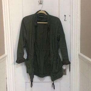 Lightweight green jacket
